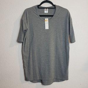 NWT : Ribbed Hi-Lo 3/4 Sleeve Tunic